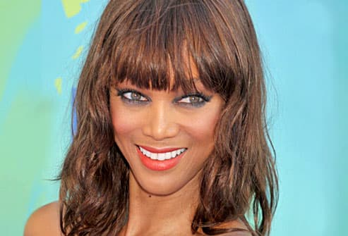 tyra banks smizing