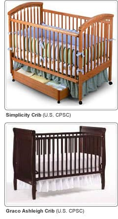 Recalled Cribs: Simplicity and Graco Ashleigh