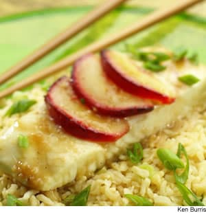 Asian Halibut & Brown Rice Packets