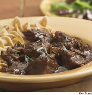 Braised Beef & Mushrooms