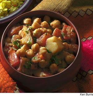 Fragrant Chickpea Stew