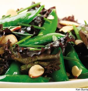 Fresh Herb & Snap Pea Salad
