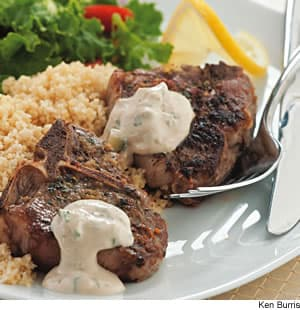 Lemon & Oregano Lamb Chops