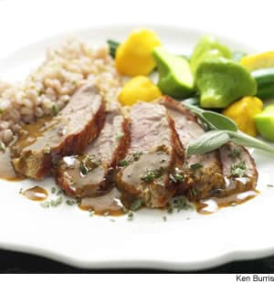 Mustard-Maple Pork Tenderloin