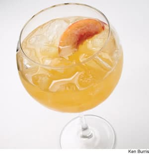 Peach Wine Cooler