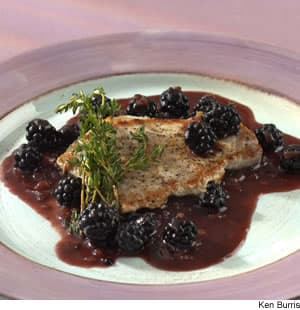 Quick Pork Sauté With Blackberries
