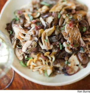 Sautéed Mushrooms With Caramelized Shallots