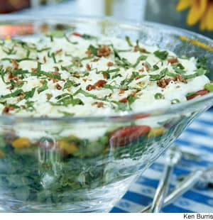 Seven-Layer Salad Recipe