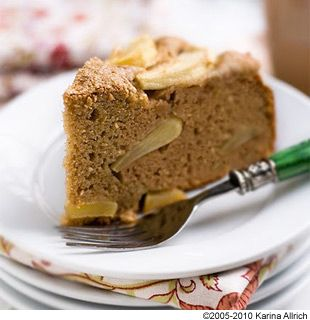 Coconut Flour Apple Cake