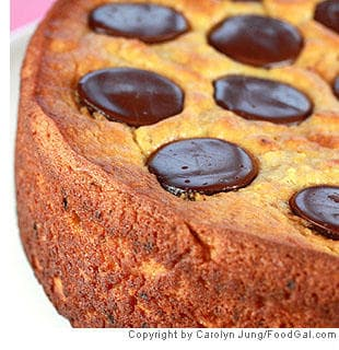 Essence of Orange-Chocolate Wafer Cake