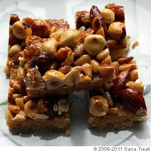 Honey Nut Squares