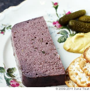 Mushroom, Walnut, and Rosemary Pate