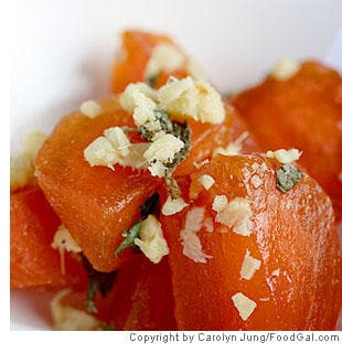... salad sesame persimmon salad with sesame vinaigrette recipes dishmaps
