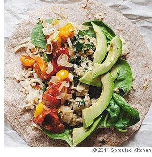 Picnic Breakfast Burritos Recipe — Dishmaps