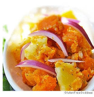 Picture of Potato Salad with Sweet Potatoes