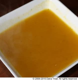 Roasted Orange Pepper Soup