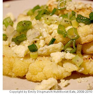 Picture of Roasted Cauliflower with Blue Cheese