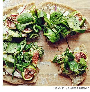Picture of Rustic Fig and Goat Cheese Pizza