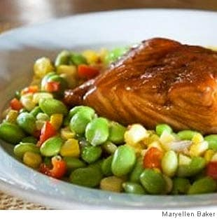 Soy Good Maple-Glazed Salmon