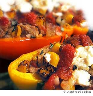 Picture of Stuffed Peppers with Ground Turkey