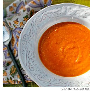 Sweet Potato Soup with Ginger