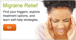 Migraine Relief: Treatment and self-help options.