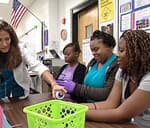 teens learn about colds and germs