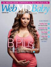 Cover of WebMD Baby July/August 2011