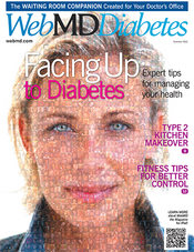 Cover of WebMD Diabetes Summer 2012