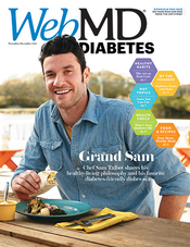 Cover of WebMD Diabetes November and December 2012