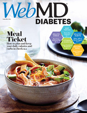 Cover of WebMD Diabetes September 2014