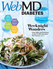 Cover of WebMD Diabetes June 2014