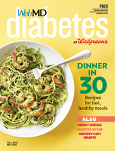 Cover of WebMD Diabetes Fall 2015