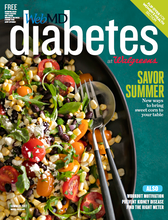 Cover of WebMD Diabetes Summer 2017