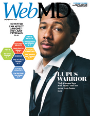 Nick Cannon  in WebMD Magazine
