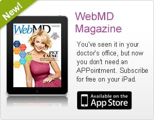 WebMD Magazine Screenshot