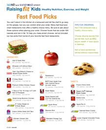 Download: Fast Food Picks PDF