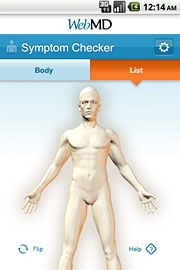 iPhone symptom checker