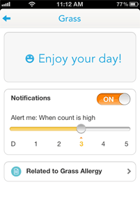WebMD Allergy App Screenshot 5