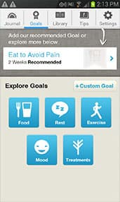 WebMD Pain App Screenshot 2