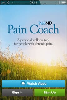 WebMD Pain App Screenshot 1