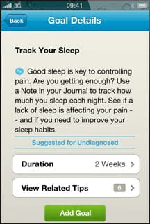 WebMD Pain App Screenshot 6