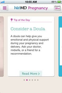 WebMD Pregnancy App Screenshot 4
