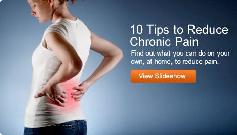 10 Tips to Reduce Chronic Pain