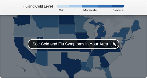 cold and flu map tool