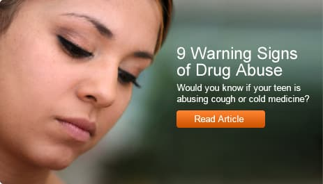 9 Warning Signs of Drug Abuse
