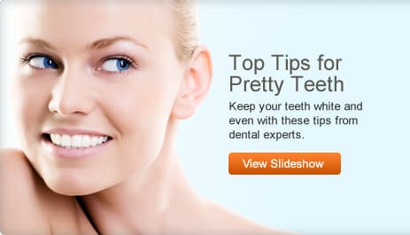 Top Tips for Pretty Teeth