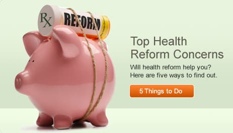 Top Health Reform Concerns