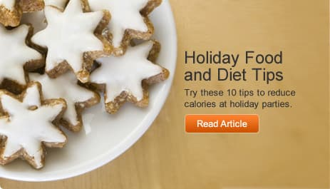 Holiday Food and Diet Tips