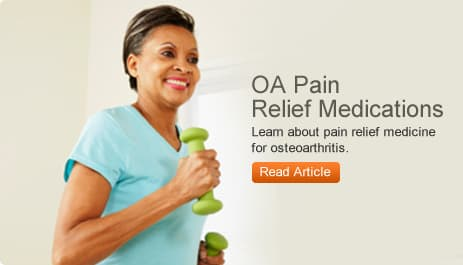 OA Pain Relief Medications